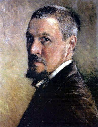 Gustave Caillebotte - Autorretrato