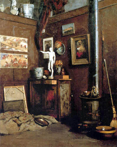Gustave Caillebotte - Atelier