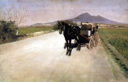 Gustave Caillebotte - A way in Naples