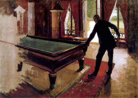 Gustave Caillebotte - Billard