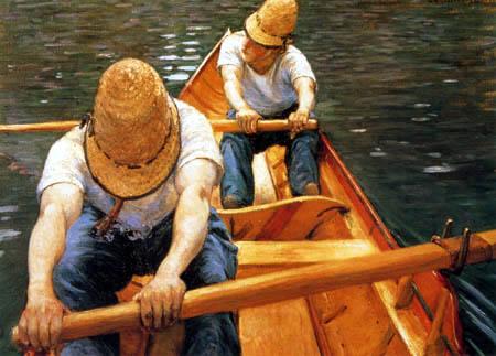 Gustave Caillebotte - Remeros en el Yerres