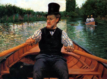 Gustave Caillebotte - Bootsfahrt
