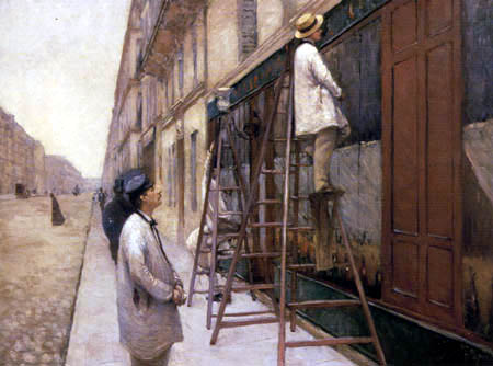 Gustave Caillebotte - House painter