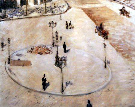Gustave Caillebotte - Das Refugium, Boulevard Haussmann