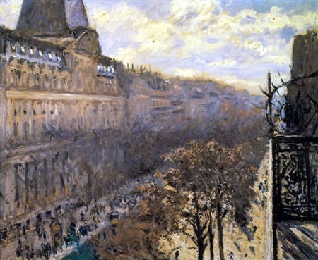 Gustave Caillebotte - Boulevard des Italiens