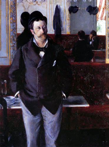 Gustave Caillebotte - In einem Café