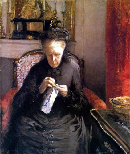 Gustave Caillebotte - Mme. Martial Caillebotte