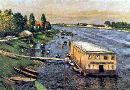 Gustave Caillebotte - El pontón de Argenteuil