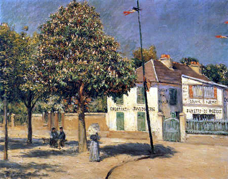 Gustave Caillebotte - Spaziergang in Argenteuil