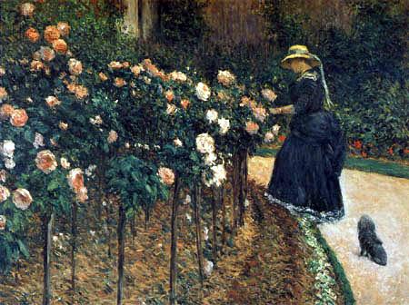 Gustave Caillebotte - Las rosas