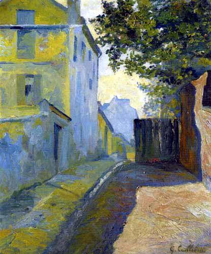 Gustave Caillebotte - Rue du Mont-Cenis, Montmartre