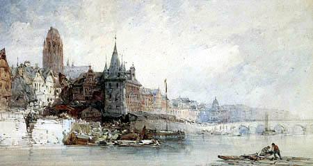 William Callow - Frankfurt on the Main