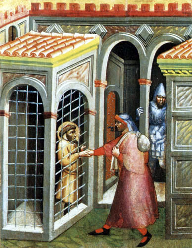 Carlo di Camerino - Works of Mercy - To visit and ransom the captives