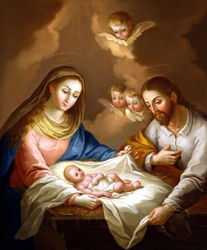 José Campeche y Jordán - La Natividad