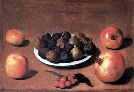 Vincenzo Campi - Figs and Pomegranates