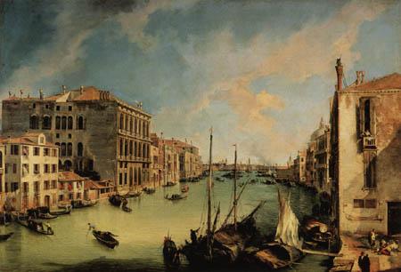Giovanni Antonio Canal Canaletto - Vedute des Canal Grande