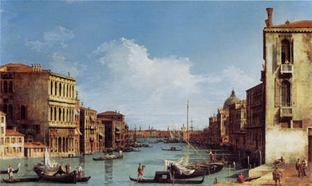 Giovanni Antonio Canal Canaletto - Canal Grande, Venise