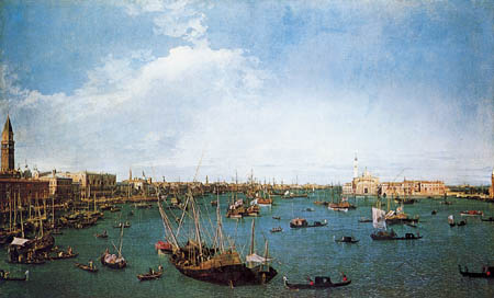Giovanni Antonio Canal Canaletto - The Basin of San Marco