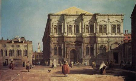 Giovanni Antonio Canal Canaletto - Campo San Rocco