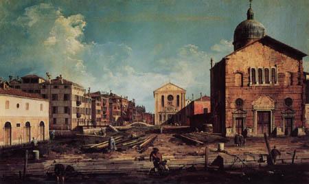 Giovanni Antonio Canal Canaletto - Vedute von San Giuseppe di Castello
