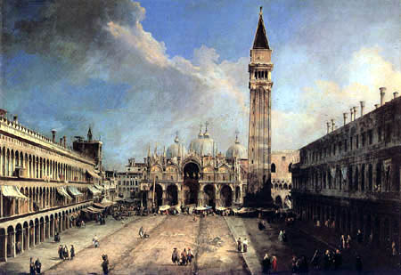 Giovanni Antonio Canal, called Canaletto - Piazza San Marco