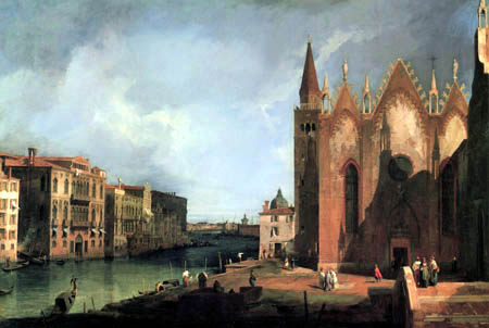 Giovanni Antonio Canal Canaletto - Grand Canal, Venise