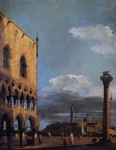 Giovanni Antonio Canal Canaletto - La Piazzetta du sud