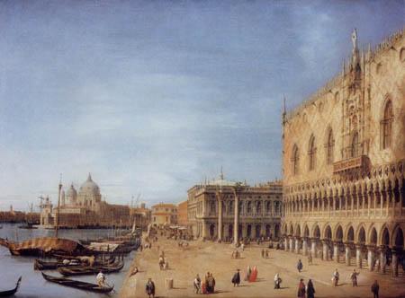 Giovanni Antonio Canal Canaletto - Molo von West