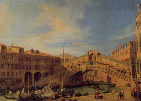 Giovanni Antonio Canal, called Canaletto - The Grand Canal, Venice