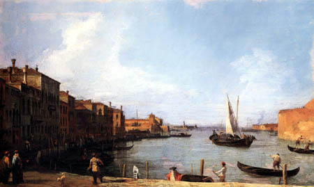 Giovanni Antonio Canal, called Canaletto - S. Chiara Canal