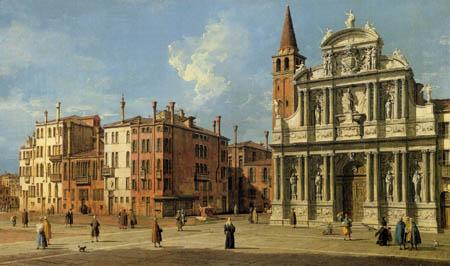 Giovanni Antonio Canal Canaletto - S. Maria Zobenigo