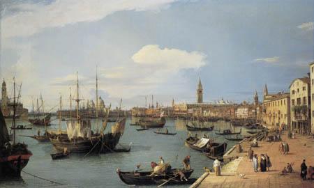 Giovanni Antonio Canal Canaletto - Riva degli Schiavoni