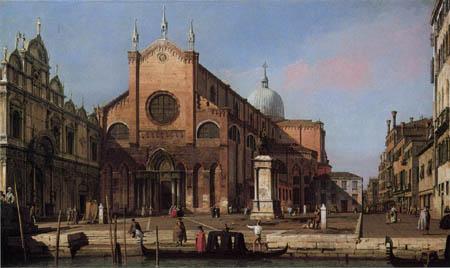 Giovanni Antonio Canal Canaletto - SS. Giovanni e Paolo