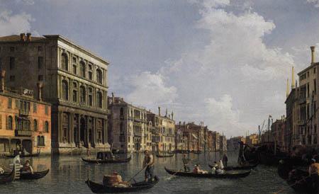 Giovanni Antonio Canal Canaletto - El canal grande, Venecia