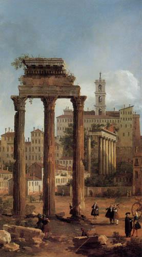 Giovanni Antonio Canal Canaletto - Rom, Ruine des Forums