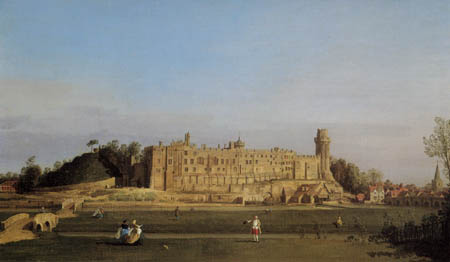 Giovanni Antonio Canal, called Canaletto - Warwick Castle, South