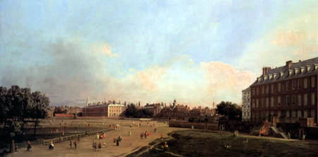 Giovanni Antonio Canal, called Canaletto - Old Horse Guards, St. James Park, London