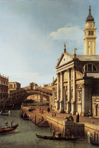 Giovanni Antonio Canal Canaletto - Capricho S. Giorgio Maggiore