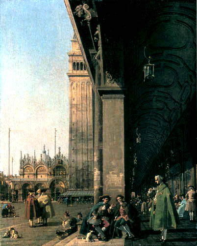 Giovanni Antonio Canal, called Canaletto - Piazza San Marco