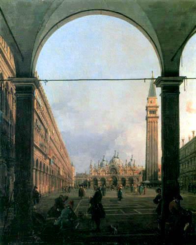 Giovanni Antonio Canal Canaletto - Piazza San Marco