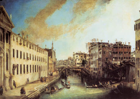 Giovanni Antonio Canal, called Canaletto - Rio dei Mendicanti