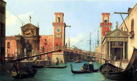 Giovanni Antonio Canal Canaletto - Arsenal