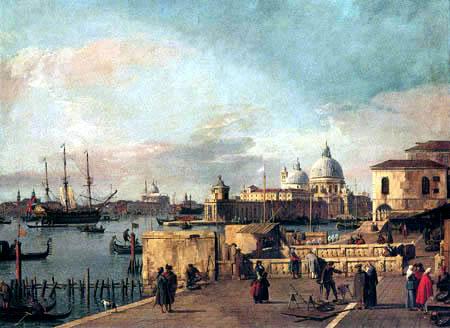 Giovanni Antonio Canal Canaletto - Entrée dans le Canal Grande