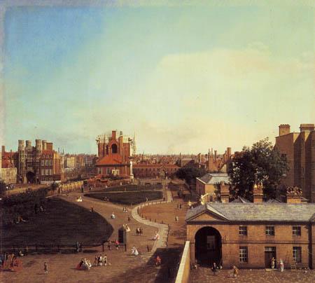 Giovanni Antonio Canal Canaletto - London, Whitehall