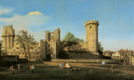 Giovanni Antonio Canal, called Canaletto - Warwick Castle, East