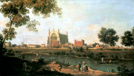 Giovanni Antonio Canal, called Canaletto - Eton College Chapel