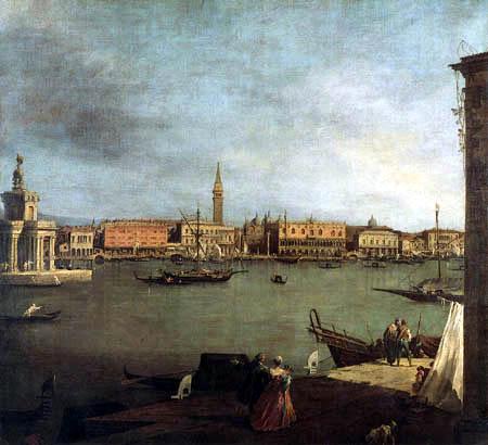 Giovanni Antonio Canal Canaletto - Bacino di san Marco, Venicia