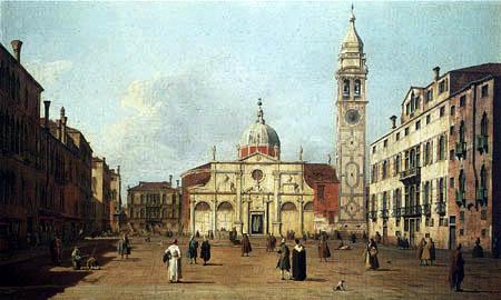 Giovanni Antonio Canal Canaletto - Campo Santa Maria Formosa