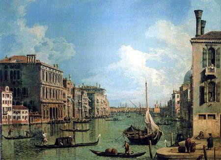 Giovanni Antonio Canal Canaletto - Canal Grande de Santa Maria della Salute