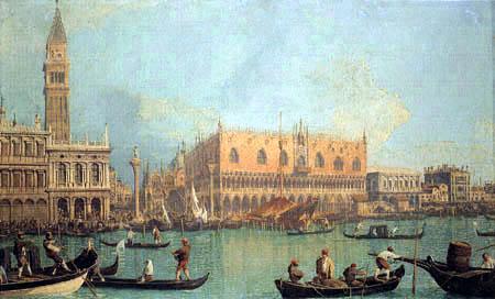 Giovanni Antonio Canal Canaletto - Palais du Doge